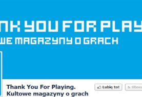 THANK YOU FOR PLAYING - Kultowe magazyny o grach