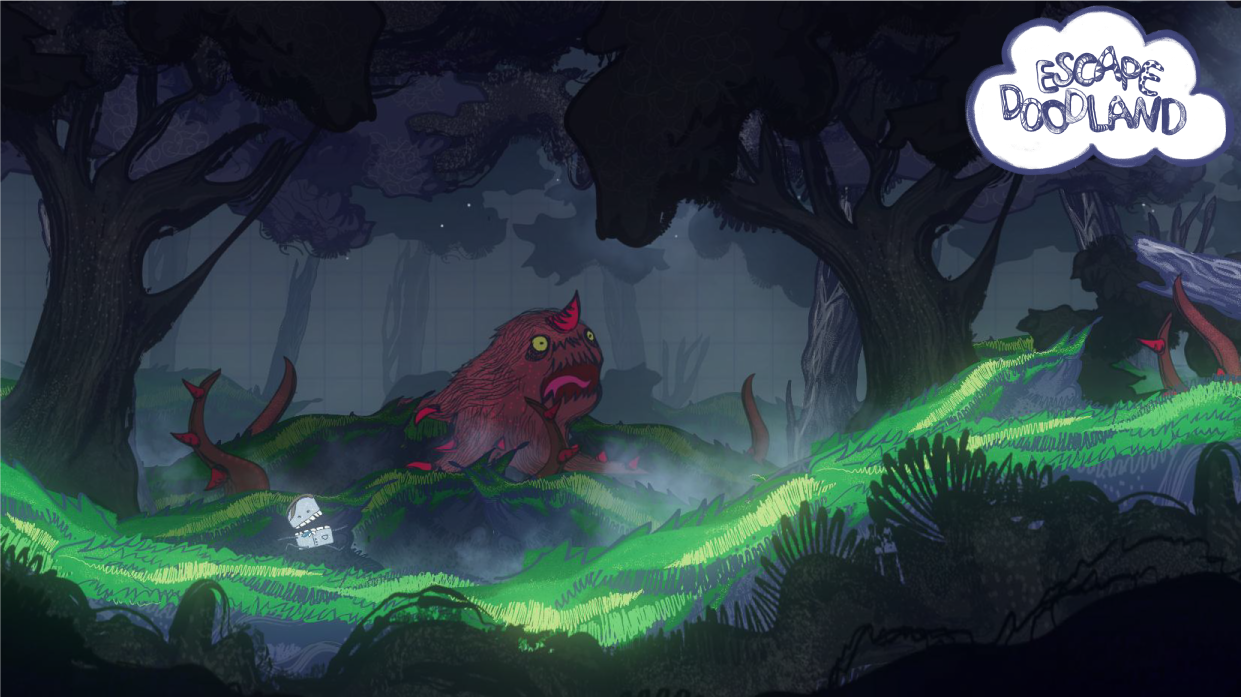 Photo of Escape Doodland – hardcorowa platformówka wkrótce na PC i Nintendo Switch