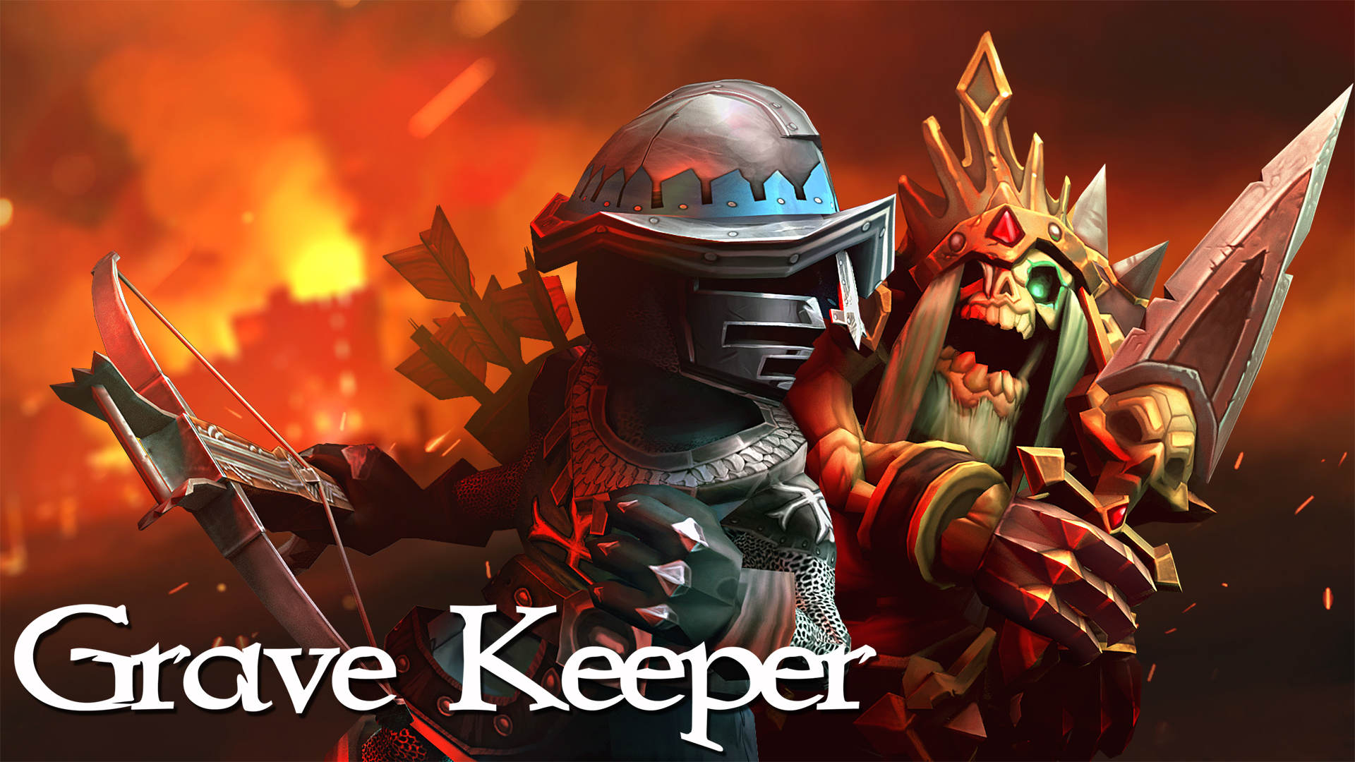 Photo of Grave Keeper – nowy nieskomplikowany hack'n'slash od studia Baldur Games